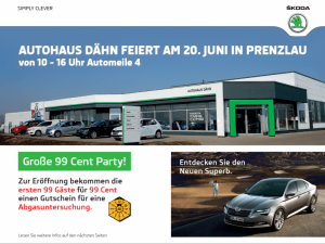 Autohaus Dähn feiert in Prenzlau