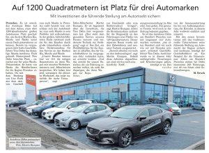 Kia, Mazda und Skoda im Autohaus Dähn in Prenzlau